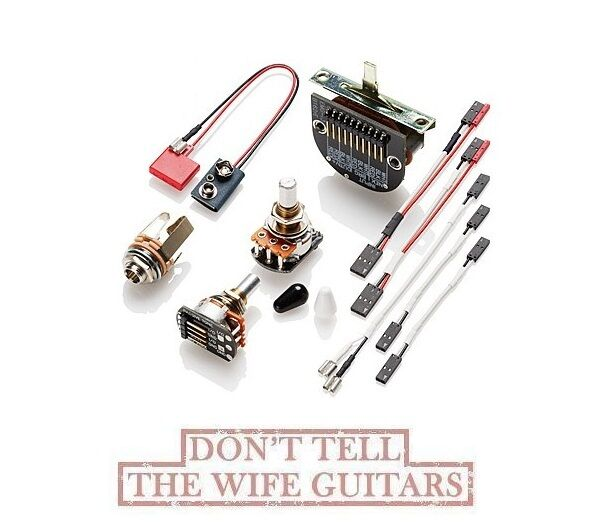 emg t pickup conversion wiring kit solderless for tele style guitars rh ebay com emg wiring kit uk emg solderless wiring kit 3 pickups