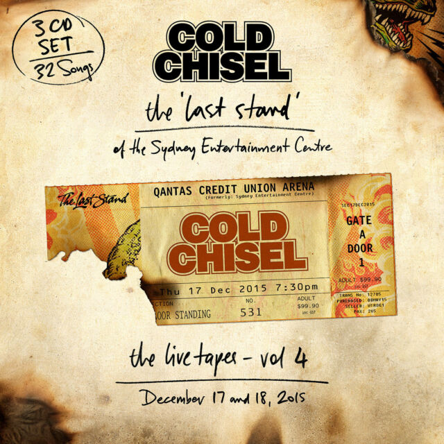 COLD CHISEL The Live Tapes Vol. 4 3CD NEW Last Stand Sydney Entertainment Centre