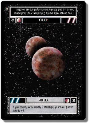 Star Wars CCG Reflections II Foil Kiffex Dark Side