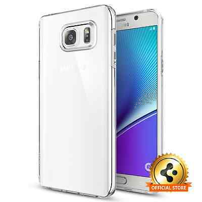 Spigen® [Liquid Crystal] Samsung Galaxy Note 5 Clear TPU Case Perfect Fit Cover