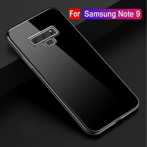 For-Samsung-Galaxy-Note9-8-S9-S8-Plus-Clear-TPU-Case-Silicone-Shockproof-Cover