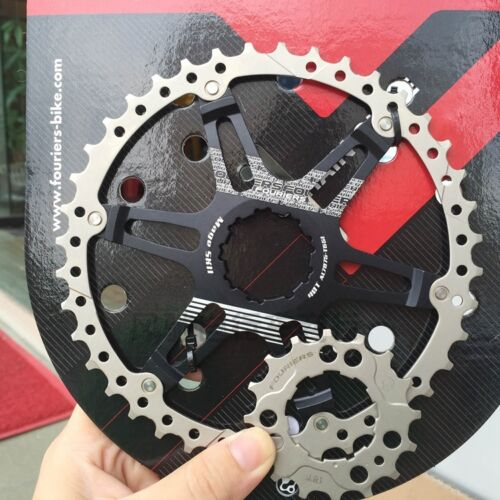 42T cog for Shimano 1x 2x system 10s Cassette Teeth Sprocket Fouriers CNC 40T
