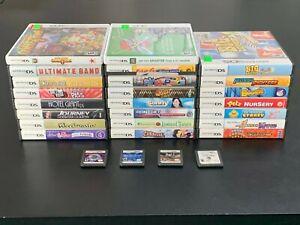 Lot-of-27-Nintendo-DS-Games