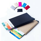NEW Aluminum RFID Card Protector Slim Credit Card holder Wallet 5 Cards Pop Up