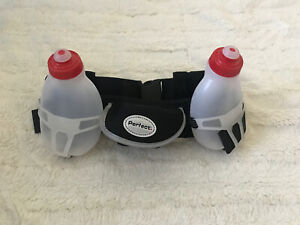 Perfect*Hydration Belt 2 BPA free Water Bottles pocket storage running gym bag