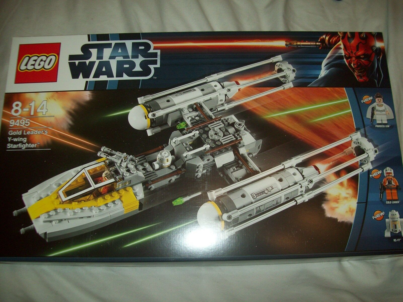 Lego Star Wars - Gold Leader's Y-Wing Starfighter - Set 9495 (BNIB)