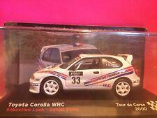 SUPERBE TOYOTA COROLLA WRC TOUR DE CORSE 2000 NEUF BOITE SOUS BLISTER 1/43 D7