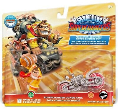 Turbo Donkey Kong BARREL Blaster Amiibo Skylanders surcompresseurs Combo Pack NEUF