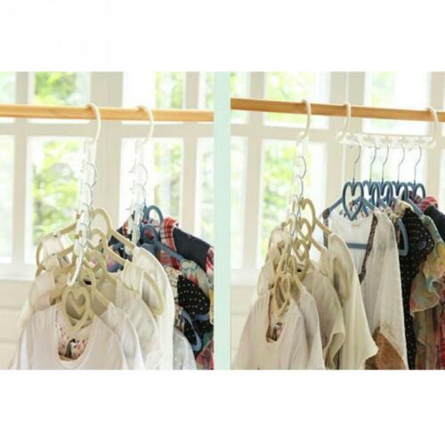Clothes Hook Organizer Holder Wonder Closet Clothing Rack Space Saver Hanger