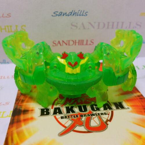 Bakugan Thunder Wilda Green Ventus B3 Series /& 2 cards