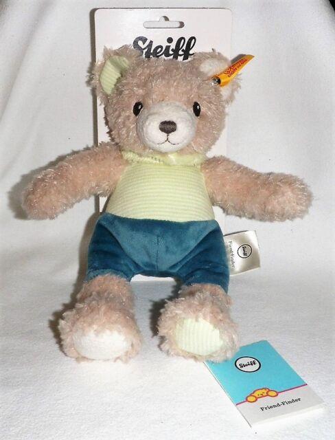 Steiff Baby Freundefinder Knister Teddybär 25cm creme Teddy Bär Geschenk 240317