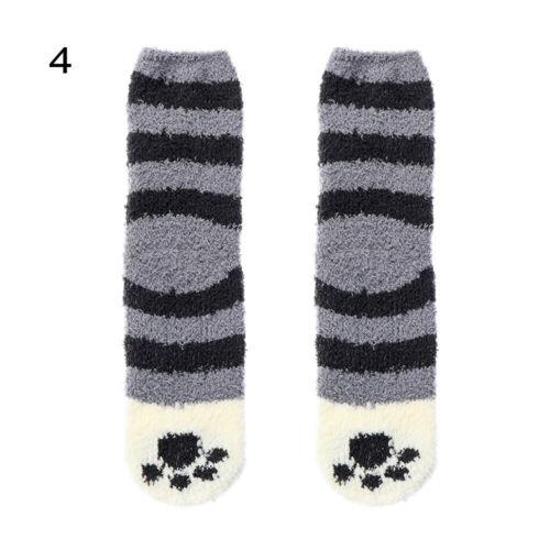 Socke Weich Plüsch Muster der Paw Verdichtung Cashmere Sox Coral Samt Socken