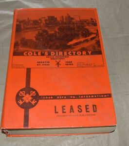 1980-Cole-039-s-St-Paul-Telephone-Directory