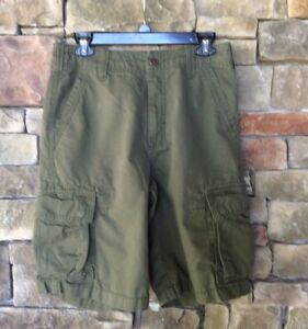 Image is loading Eastern-Mountain-Sports-EMS-Mens-Hiking-Cargo-Shorts- b73c1611930