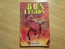 RARE COPY OF ALIEN LEGION: PIECEMAKER TRADE PAPERBACK GRAPHIC NOVEL!