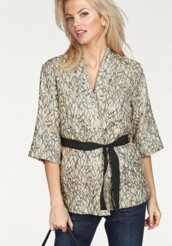 NEU!!! b.young Kimono-Blazer »Gidana kimono« creme-schwarz-goldfarben