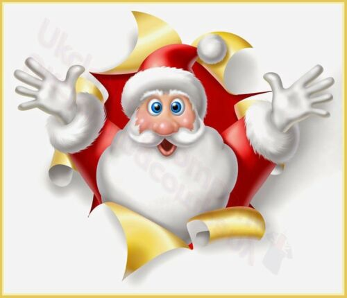MENS WOMENS KIDS TOPS S TO 5XL CHRISTMAS FUNNY SANTA CLAUS T-SHIRT