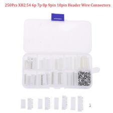 E Xh Kit 6p 7p 8p 9p 10 Pin 254mm Terminal Housing Pcb Header Wire Connectf