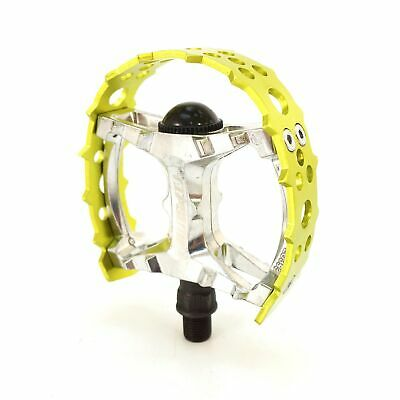 "Tipsum Odyssey Bear Trap 9//16/"" 1//2/"" BMX Sharp Pin Pedal fit 3 Piece Crank Red"