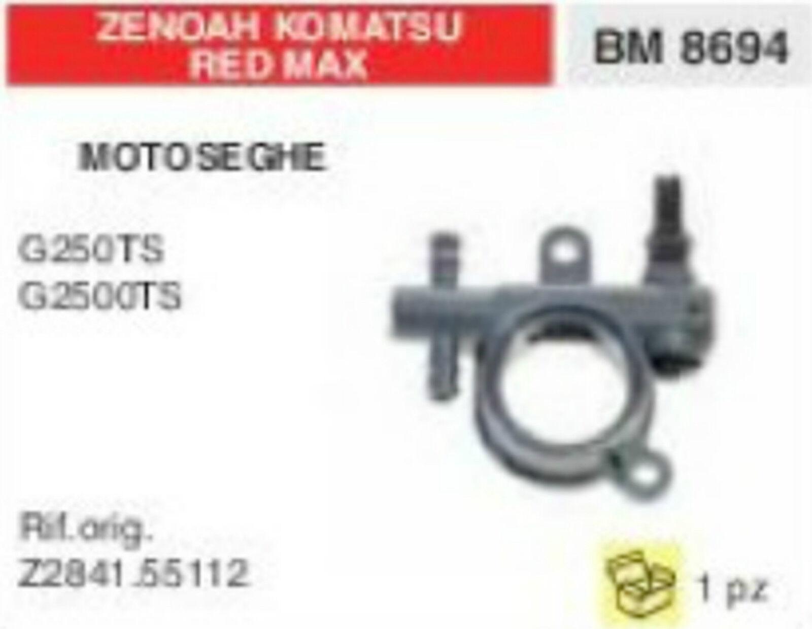 Z263055103 POMPA OLIO COMPLETA MOTOSEGA ZENOA KOMATSU rojo MAX G310 TS G3100TS