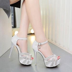 Sabot 9893 Simil Cm Stiletto Silver Tacco Pelle 13 Eleganti Sandali Bqfxqp