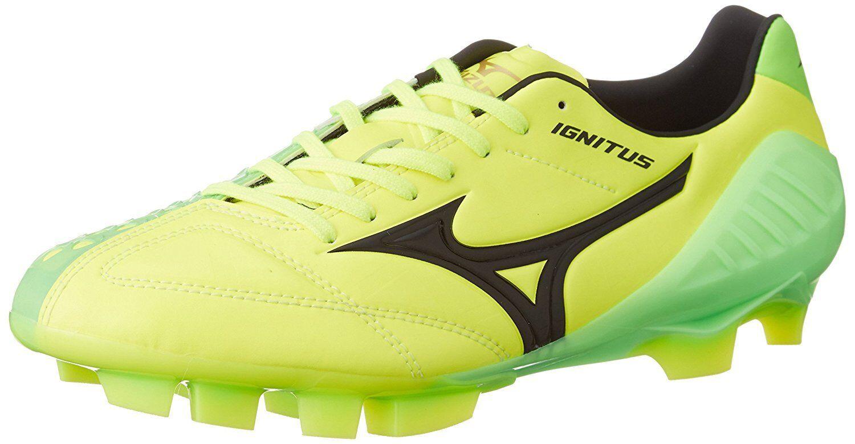 MIZUNO Soccer Football Spike WAVE IGNITUS 4 MD P1GA1631 Yellow US3.5(22cm)