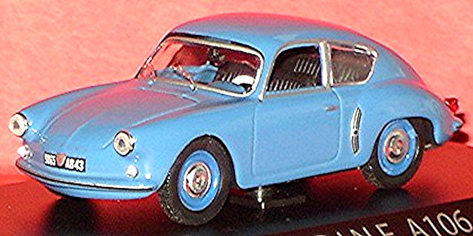 Renault Alpine A 106 Coupé 1955-63 blue blue 1 43 Norev