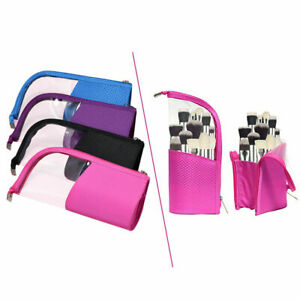 Portable-Makeup-Case-Brush-Holder-Stand-Organizer-Bag-Cosmetic-Pouch-Waterproof