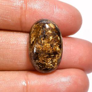Natural Bronzite Oval Shape Cabochon Loose Gemstone 14.5 Ct. 20X12X6 mm GC-8307