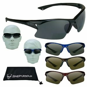 101951759130 Image is loading SPORT-BIFOCAL-Sunglasses-Sun-Readers-GOLF-CYCLING-Driving-