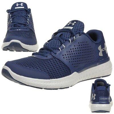 Under Armour Men/'s UA Micro G Fuel RN Running Shoe 1285670-004 Black White Vel