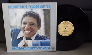 Buddy-Rich-Class-of-039-78-recorded-direct-to-disc-GADD-1030-1977-Made-in-USA
