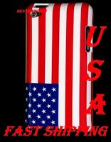 For Ipod Touch 4 Th Itouch Us United State America American Flag Hard Case Cover