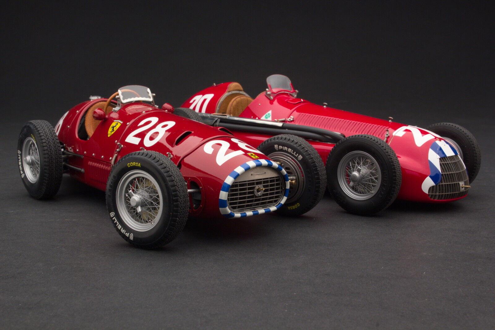 Exoto 1 18 The Nino Farina Grand Prix Champion F1 Set  Bnd22058  | Schön In Der Farbe