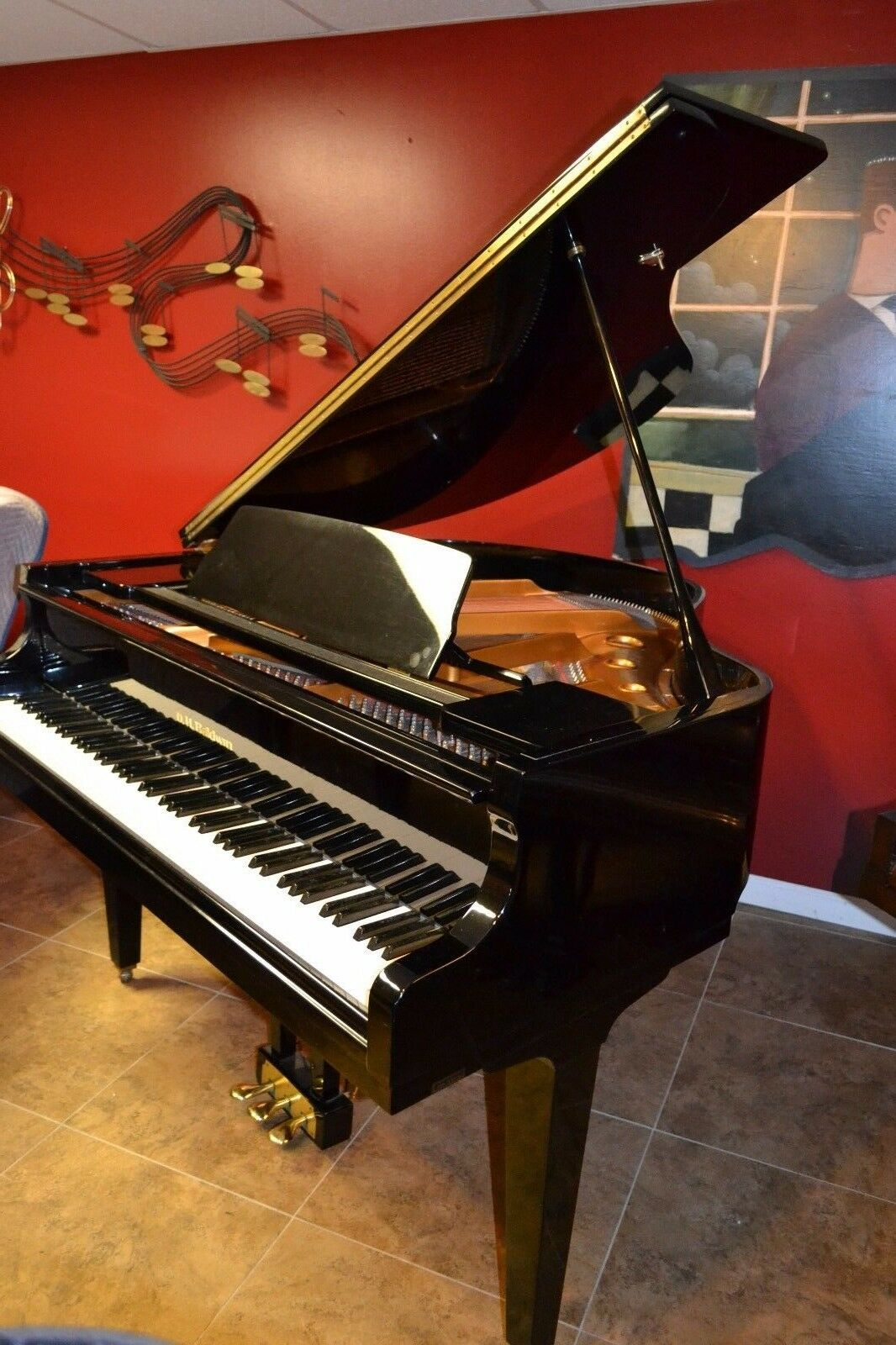 s l1600 - Baldwin Baby grand Piano