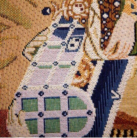 Mon seul désir- &  & désir- licorne série-belge Loom tissé tapisserie 83 x 68 cm 5f36f1