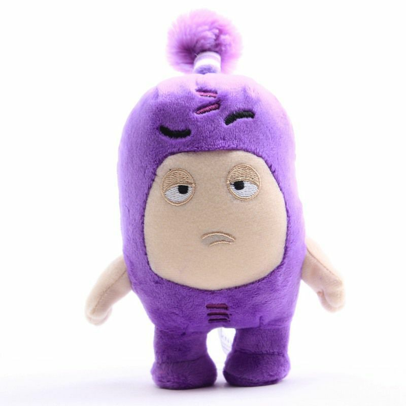 soft doll 18cm Pink OR Purple Small plush giggle doll