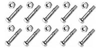 (10) Shear Pins & Bolts Fit Cub Cadet 724te 724we 826swe 926ste 926se Snowblower