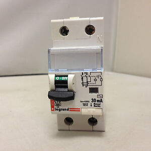 Perfect Image Is Loading LEGRAND 07884 SINGLE POLE 30mA C10 DIFFERENTIAL CIRCUIT