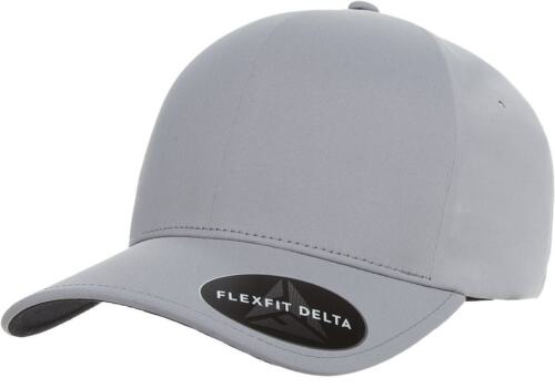 Flexfit® 180 Delta Mid Profile Fitted Baseball Blank Plain Hat Ball Cap Flex Fit
