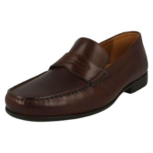 Mens Clarks Formal Slip On Shoes /'Claude Lane/'