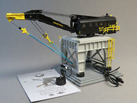 Lionel Mow Command Controlled Trackside Crane O Gauge Train Gantry 6-82033