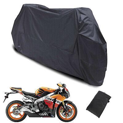 Bag Black XXXL Waterproof Motorcycle Outdoor Indoor Motorbike Bike Rain Cover