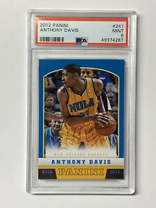 Anthony-Davis-2012-Panini-Rookie-Basketball-Card-241-Lakers-PSA-9-Mint