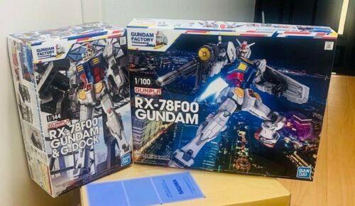 Gundam Gunpla Yokohama Limited Set of 2 RX-78F00 1//100 /& 1//144 Plastic model