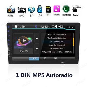Singolo-1-Din-9-034-Car-Autoradio-FM-MP5-Player-Touch-Screen-Stereo-Bluetooth-Media