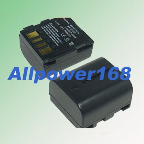 Batería para JVC GR-D290U GRD370E GRD370EX GRD370U cámara de vídeo digital