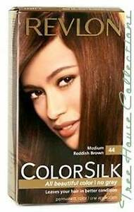 Image Is Loading Treehousecollections Revlon Colorsilk Medium Reddish Brown 44 Hair