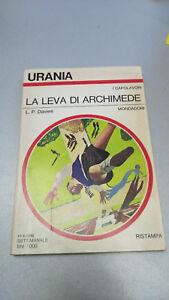 LA-LEVA-DI-ARCHIMEDE-L-P-Davies-Urania-n-831-1980-fantascienza