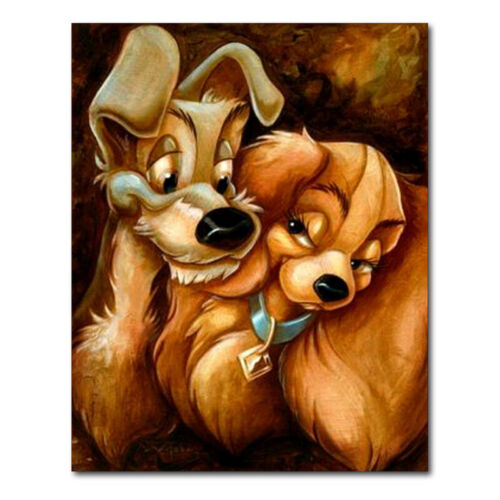 Animal Dogs Diamond Painting Full Drill 5D DIY Embroidery Kit Arts Picture ARF A